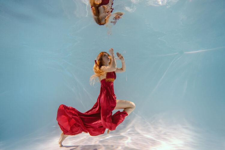 Номер- 002 Платье для подводной фотосессии ( аренда )