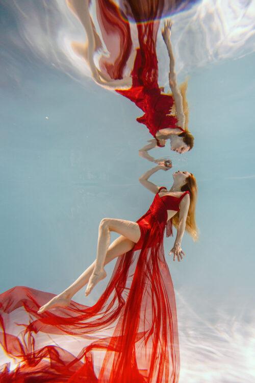 Номер- 003 Платье для подводной фотосессии ( аренда )