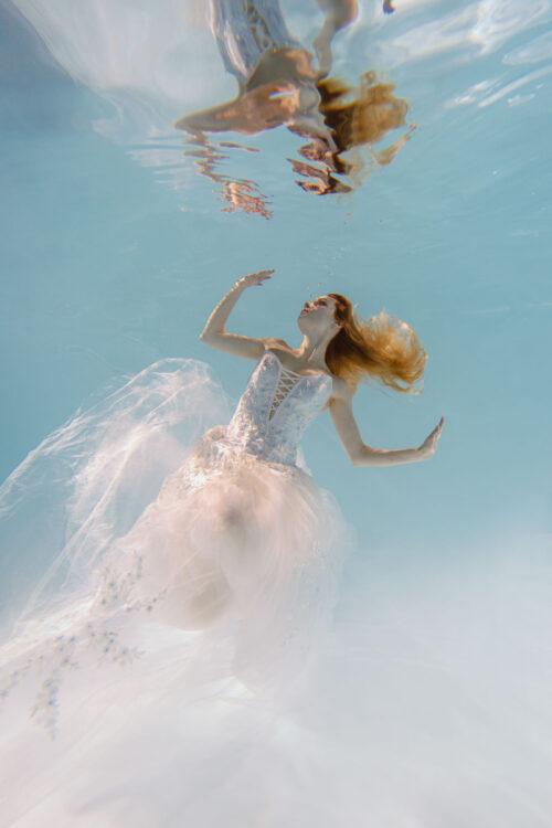 Номер- 010 Платье для подводной фотосессии ( аренда )