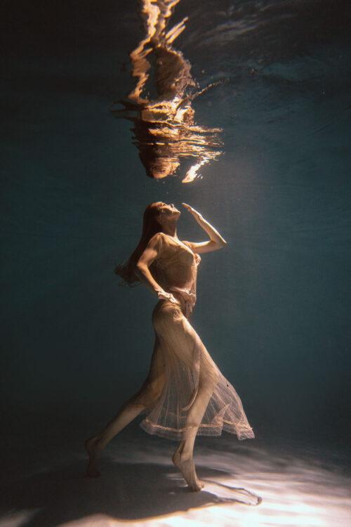 Номер- 009 Платье для подводной фотосессии ( аренда )