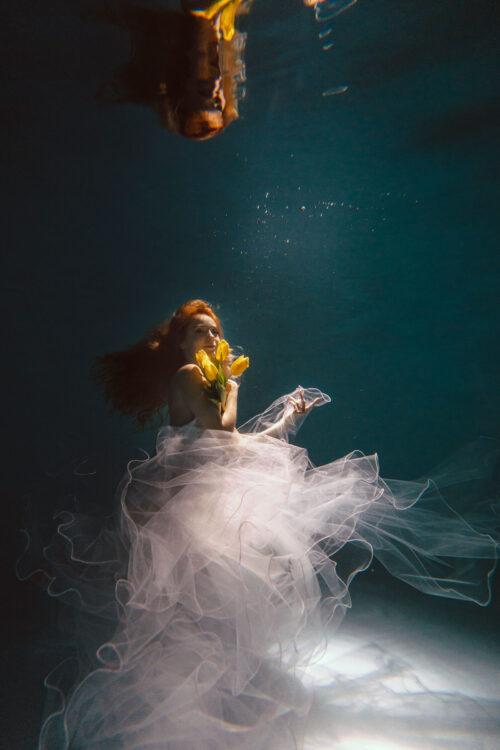Номер- 004 Платье для подводной фотосессии ( аренда )